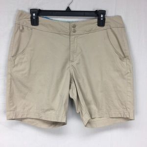 Columbia Khaki PFG Classic fit Shorts